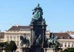 Wenen 034 Maria Theresienplatz