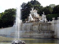 Wenen 115 Schonbrunn Neptunus Fontein (Neptunbrunnen