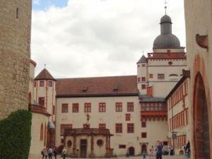 068 Wurzburg Festung Marienberg