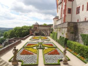 079Wurzburg Festung Marienberg Furstengarten Princen Garten