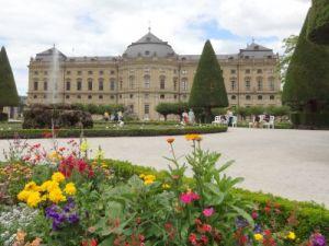 099 Wurzburg Residenz Palast Unesco Werelderfgoed Hofgarten