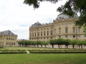 101 Wurzburg Residenz Palast Unesco Werelderfgoed Hofgarten