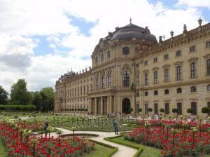 104 WurzburgResidenz Palast Unesco Werelderfgoed Hofgarten