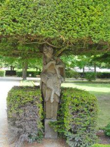 107 Wurzburg Residenz Palast Unesco Werelderfgoed Hofgarten - kopie
