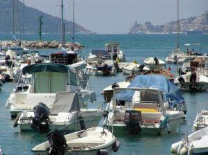 118 zomer 2008 Lerici  met uitzicht op Portovenere x