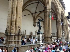 152 Florence Loggia dei Lanzi