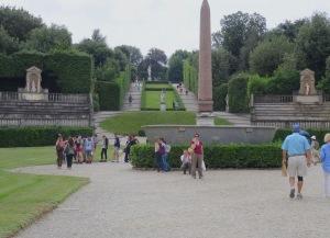 169 Boboli tuinen liggen achter Palazzo Pitti
