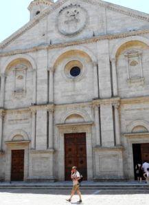 2012 114 Pienza Piazza PioII  La Cattedrale dell'Assunta