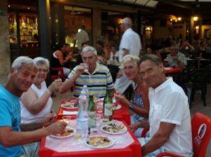 2012 135 Camping Badiaccia, campingeigenaar geeft feest vanwege zijn 60e verjaardag