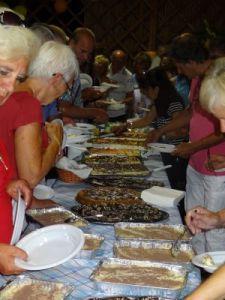 2012 136 Camping Badiaccia, campingeigenaar geeft feest vanwege zijn 60e verjaardag