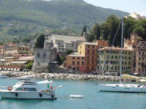2012 192 van Santa Margherita Ligure met de boot naar Portofino