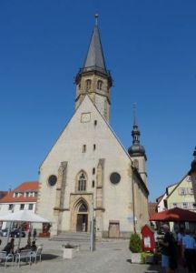 74 Weikersheim Stadtkirche St. Georg