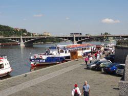 001 een boottocht over de Moldau van een uur
