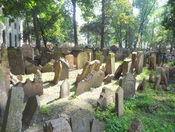 040 Joodse begraafplaats Stary Zidovsky Hibitov heeft 12000 grafstenen
