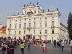 074 Praagse Burcht, Prazsky hrad, grootste kasteelcomplex in de wereld met een oppervlakte van 70.000 m2