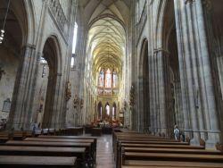 084 Praagse Burcht, derde binnenplein. St Vitus Kathedraal