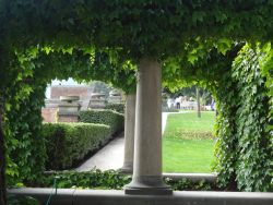 114 Praagse burcht, de tuinen Rajska Zahrada