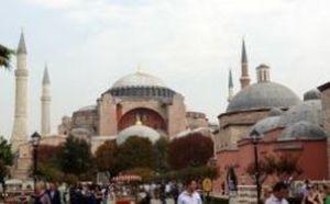 ist 017 Aya Sofhia of Haghia Sophia werd gebouwd als Byzantische kerk, daarna een moskee en nu een museum.