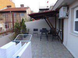 ist 183 ons appartement, terras met uitzicht op de Bosporus