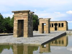 Madrid 23 fietstocht Temple Debod