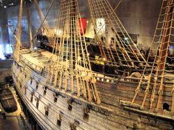 Stockholm 105  sept 2010  Vasamuseet op Djurgarden, in 1628 op zijn eerste vaart gezonken. Begin