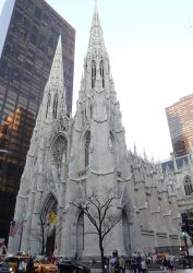 293 St Patricks Cathedral op de Fifth Avenue