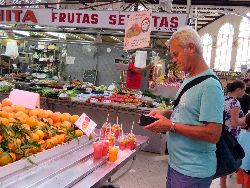 060 Mercado Central 8000 m3, meeer dan 400 kraampjes