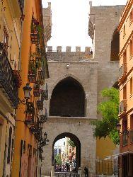 065 We lopen naar Torres de Quart
