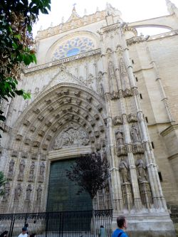 112 zijkant Kathedraal Santa Maria de ls Sede