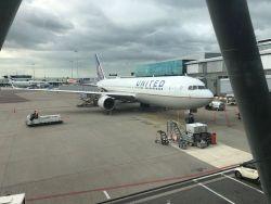 united vliegtuig